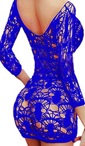 Long Sleeve Womens Bodystocking - 7