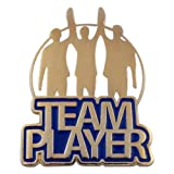 PinMart Team Player Corporate Recognition Motivational Lapel Pin