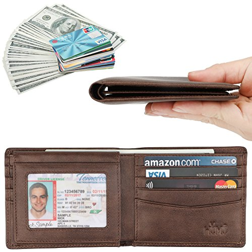 Review Wallet for Men-Genuine Leather