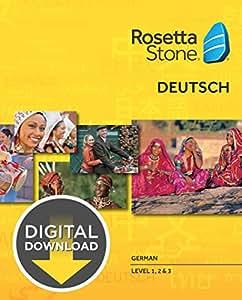 Amazon Com Rosetta Stone German Level 1 3 Set For Mac