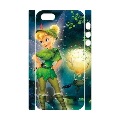 SYYCH Phone case Of Character Tinkerbell Cartoon Design Cover Case For iPhone 5,5S