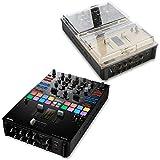 Pioneer DJM-S9 Professional 2-Channel Serato Battle Mixer & Decksaver DS-PC-DJMS9 Protective Cover - Bundle