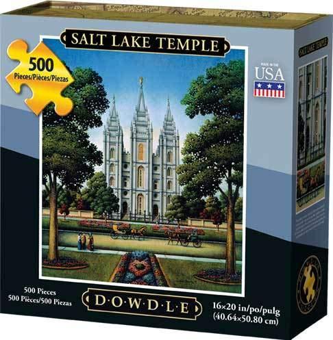 Dowdle Jigsaw Puzzle - Salt Lake Temple - 500 Piece ()