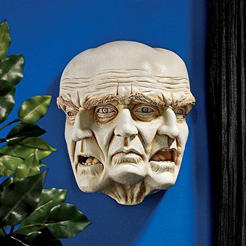 Design Toscano The Nightmare Wall Sculpture, New
