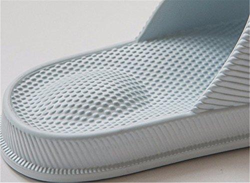 spesso pantofole balneazione pantofole antislittamento in home estate YMFIE cool di cari indoor bagno fondo O uomini plastica Massaggio X4wq7
