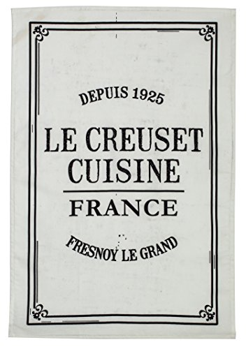 Le Creuset Cuisine Towel, Black (Le Creuset Kitchen Towel)