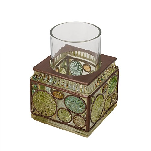Zenna Home, India Ink Boddington Tumbler, Bronze with Translucent Colors