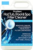5L of Pro-Kleen Hot Tub, Pool & Spa Filter Cartridge Cleaner - 10 Treatments - Improves Efficiency of Filter - Suitable for all Hot Tubs, Pools & Spas - Deeply Cleans and Removes Oils, Grease and Minerals