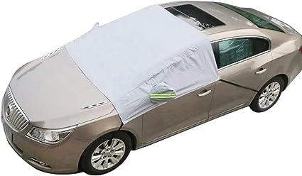 Besteu Auto Windschutzscheibe Sonnenschirme Universal Car Sonnenschutzfolie Frontscheibe Abdeckung Car Half Body Cover Garten