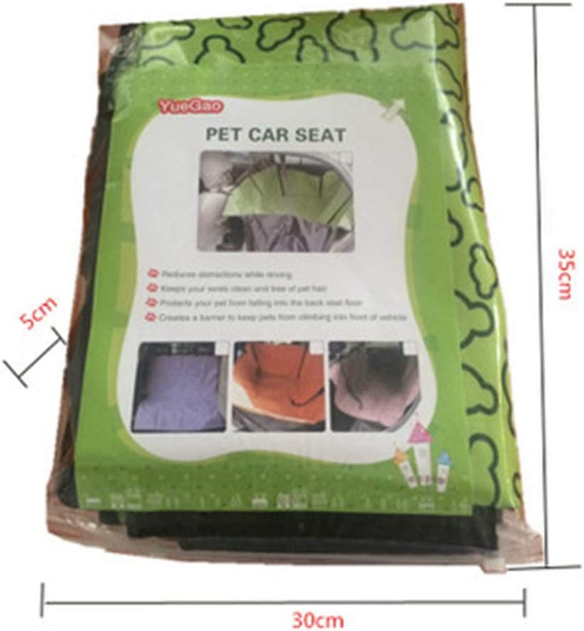 130Cm MYYXGS Pet Dog Car Seat Cover Waterproof Scratch-Resistant And Non-Slip Back Pet Cat Dog Seat Cover Universal Type For All Cars 145