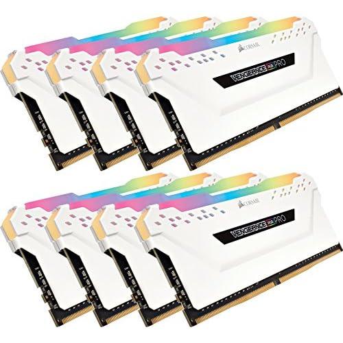chollos oferta descuentos barato Corsair Vengeance RGB Pro Kit de Memoria Entusiasta 32 GB 4 x 8 GB DDR4 3600 MHz C18 XMP 2 0 Iluminación LED RGB Blanco