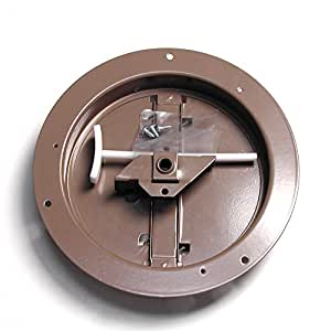 Accord Abcdbrd08 Ceiling Damper With Round Butterfly