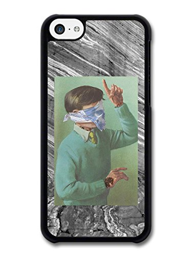 Classic Childrens Book Illustration with added Tattoos and Skull Bandana case for iPhone 5C