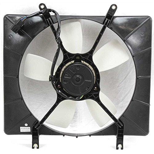 Radiator Fan Assembly for Isuzu Rodeo 98-04 4 Cyl Manual Transmission Single Type