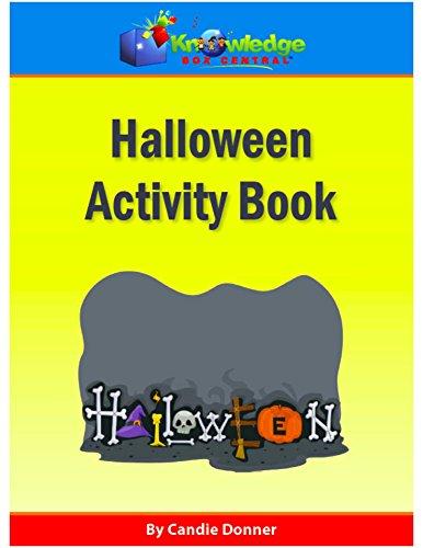 Halloween Activity Book: Plus FREE Printable Ebook