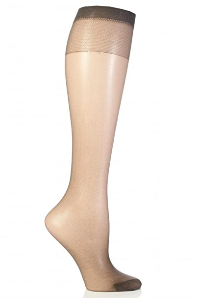 fecc1d7a696c9 Pretty Polly Naturals 8 Denier Knee Highs - One Size - Barely There ...