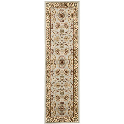 "51F8jGw121L - Safavieh Lyndhurst Collection LNH216G Traditional Oriental Grey and Beige Runner (2'3"" x 8')"