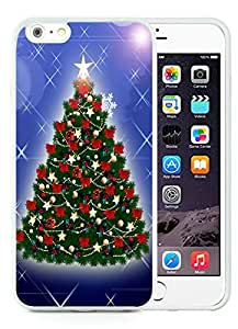 Personalization iPhone 6 Plus Case,Christmas tree White iPhone 6 Plus 5.5 TPU Case 22