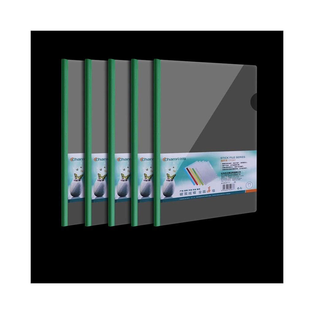 Packung Mit 30 Color : Red Z-SHUMA A4 Kunststoff Office Datei Ordner Dokument Dateien Taschen Quittung Organizer For B/üros Schule