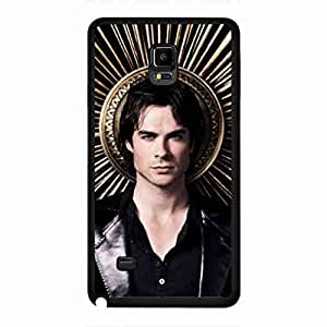 New Fashion Vampire Diaries Funda,Vampire Diaries Funda Black Hard Plastic Case Cover For Samsung Galaxy Note 4