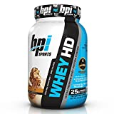 BPI Sports Whey-HD Ultra Premium Whey Protein Powder, Chocolate...