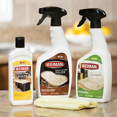 Weiman Granite and Stone Complete Care Kit (Set of 3, 3) by Weiman (Image #2)