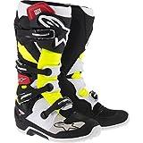 Alpinestars Tech 7 Boots-Black/Red/Yellow-10
