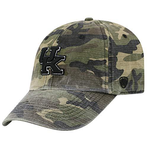 Top of the World Kentucky Wildcats NCAA Heroes Adjustable Camo Hat