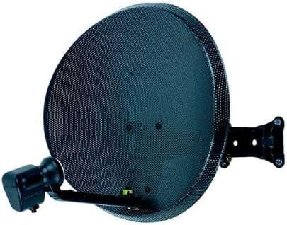 Antena parabólica con LNB individual – 43 cm Zone 1: Amazon ...