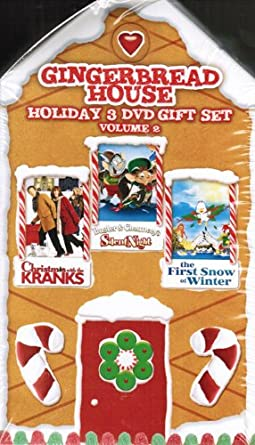 Christmas With The Kranks House.Amazon Com Gingerbread House Holiday 3 Dvd Gift Set Volume