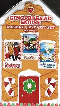 Christmas With The Kranks 2.Amazon Com Gingerbread House Holiday 3 Dvd Gift Set Volume