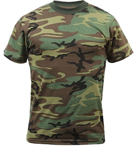New Heavyweight Camo Olive Drab Tactical Military S S Polly Cotton ()