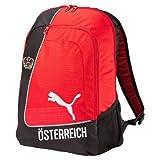 PUMA Rucksack Country Backpack Licensed, Red/Ebony/Austria, 34 x 19 x 48 cm, 31 Liter, 074068 01