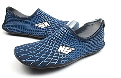 NBERA by 2econdskin Durable Outsole Barefoot Water Skin Shoes for Beach Swim Surf Yoga Exercise