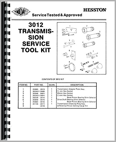 Download Hesston 80-66 Quick Reference Service Manual pdf