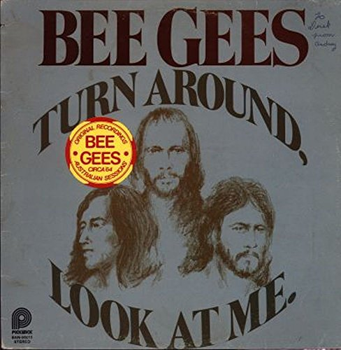 Bee Gees - Turn Around, Look At Me - Pickwick - BAN 90011 - Canada - Writing On Cover VG++/NM - Canada Ban