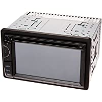 Power Acoustik PDN-621HB Double DIN DVD/CD/AM/FM/MP3/MP4 Bluetooth Navigation Receiver with 6.2 LCD Touchscreen