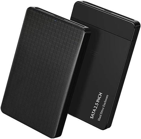 Carcasa para Disco Duro SSD de 2,5 Pulgadas SATA a USB 3.0 HDD ...
