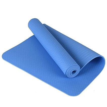 Esterilla de yoga TPE para principiantes, 8 mm de protección ...