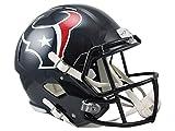 Riddell NFL Houston Texans Full Size Replica Speed Helmet, Medium, Red