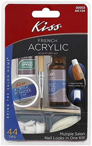 KISS French Acrylic Sculpture Kit 1 ea by KISS by Kiss