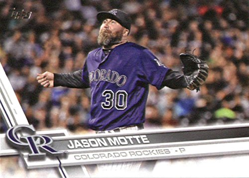 2017 Topps Series 2 #559 Jason Motte Colorado Rockies Baseball Card (Series 559)