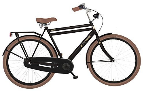 Rivel Men's Orlando Nexus 3 Dutch City Cruiser Bike, Black, 22/Large""