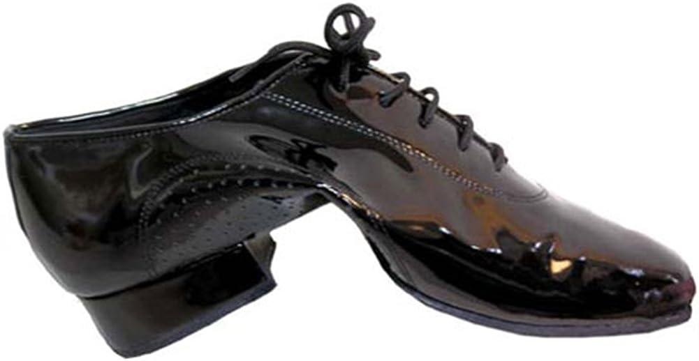 Black Patent Leather Flex Split Sole