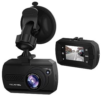 Dash Cam de 1080p, cámara para el salpicadero con G-sensor integrado