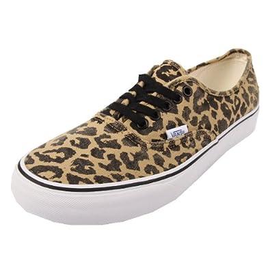 e79497c0c48b16 Vans Authentic Van Doren Leopard Black 44  Amazon.co.uk  Shoes   Bags