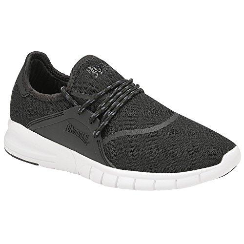 - Lonsdale Womens/Ladies Sirius Sneakers (9 US) (Black/Gray)