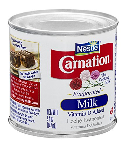 Carnation Evaporated Milk, 5-Ounce Cans (Pack of (Concentrated Milk)