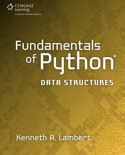Book cover of Fundamentals of Python: Data Structures by Kenneth Lambert