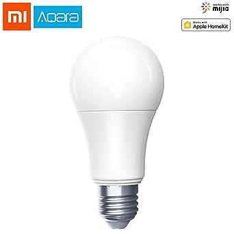 Xiaomi Aqara Bombilla LED Regulable e Inteligente, Bombillas de bajo consumo con Control remoto de